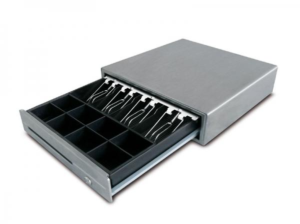 Profi-Kassenlade im hochwertigen Edelstahlgehäuse für Waage CT100