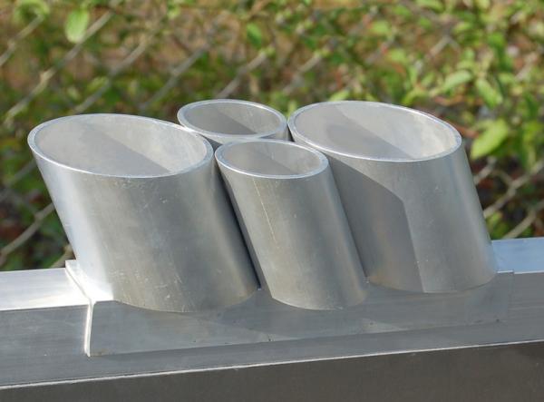 Spraydosenhalter für Einzeltierwaage